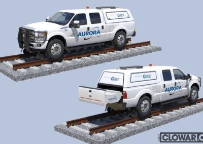 Truck built for GREX Aurora animation