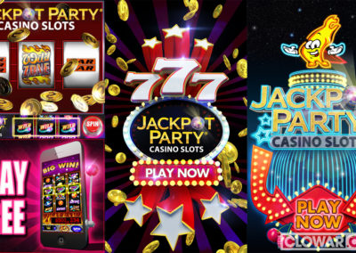 Game ad for Jackpot Party Casino