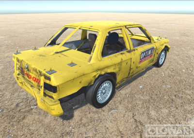 1989 BMW E30 Chassis – Demolition Derby.