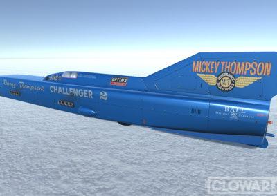 Challenger2 – Bonneville Salt Flats Land Speed Record car.