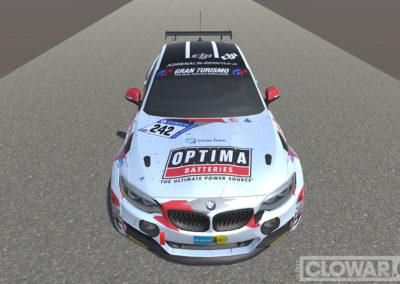 Nürburgring 24-hour BMW 325i racer.